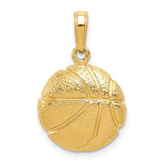 Million Charms 14k White Gold Small//Mini Key Charm Pendant